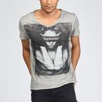 Blindfolded Vintage T-Shirt // Dark Gray (M)