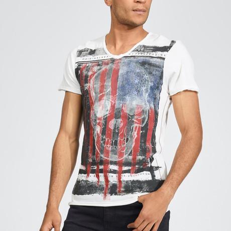 United Skulls T-Shirt // Off White (S)