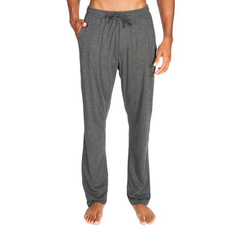 Lightweight Relaxed Fit Lounge Pant // Dark Gray (S)