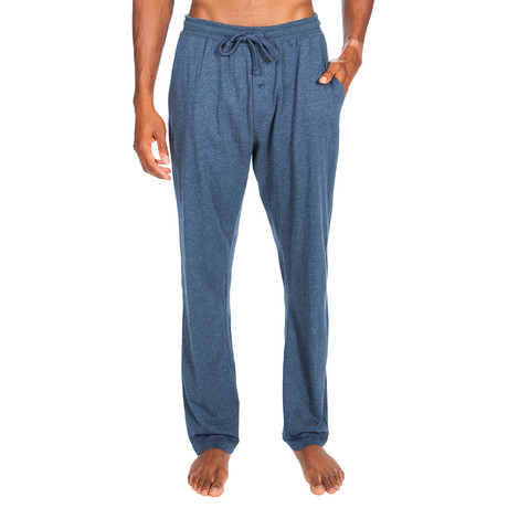Lightweight Relaxed Fit Lounge Pant // Medium Blue (S)