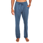 Lightweight Relaxed Fit Lounge Pant // Medium Blue (M)