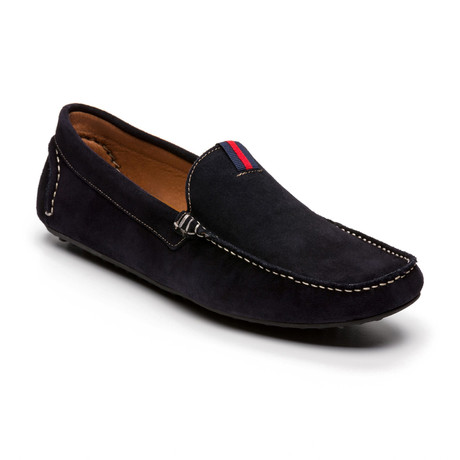 Siflag Suede Moccasin // Blue (Euro: 39)