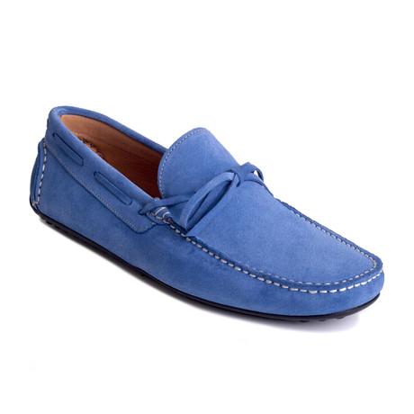 Symbol Tabarca Suede Moccasin // Blue (Euro: 39)
