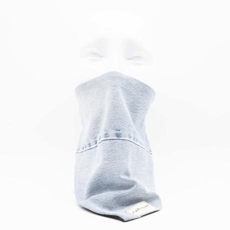 Upcycled Denim Maskdanna // Blue (S)