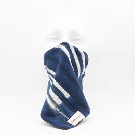 Striped Maskdanna // Indigo (S)