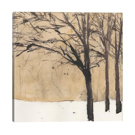 "Forest Sketch II // Samuel Dixon (26""W x 26""H x 1.5""D)"