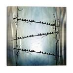"""Barricade // Viviana Gonzalez (26""""W x 26""""H x 1.5""""D)"""