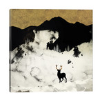 """Winter Silence // SpaceFrog Designs (26""""W x 26""""H x 1.5""""D)"""