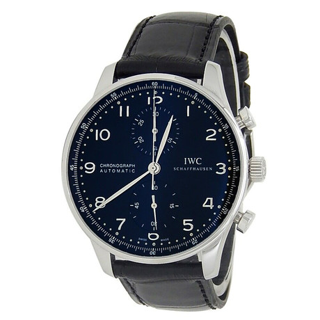 IWC Portuguese Chronograph Automatic // IW371447 // Pre-Owned