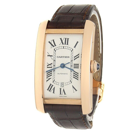 Cartier Tank Americaine Automatic // W2609156 // Pre-Owned