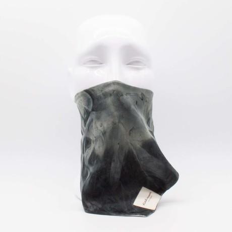Silky Tie Dye Maskdanna // Black (S)