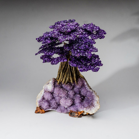 The Protection Tree // Genuine Amethyst Tree + Amethyst Matrix // Custom v.2 // XL