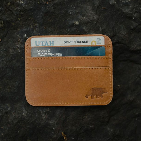 Kenai Minimalist Wallet // Antique Brown