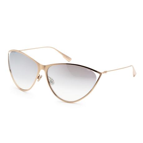 Women's New Motard Sunglasses // Rose Gold
