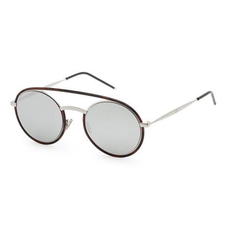 Men's Synte 1S-045Z-51RU Sunglasses // Havana + Silver