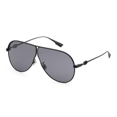 Women's Camp Sunglasses // Matte Black + Gray