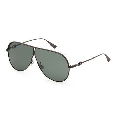 Women's Camp Sunglasses // Matte Khaki + Green