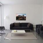 "Vestrahorn Mountain Black Sand Beach // James Vodicka (40""W x 26""H x 1.5""D)"