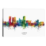 """Darwin Australia Skyline // Michael Tompsett (40""""W x 26""""H x 1.5""""D)"""