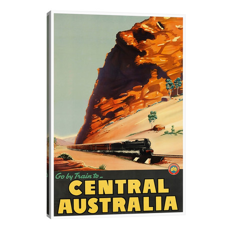 Go // Train To Central Australia // Unknown Artist