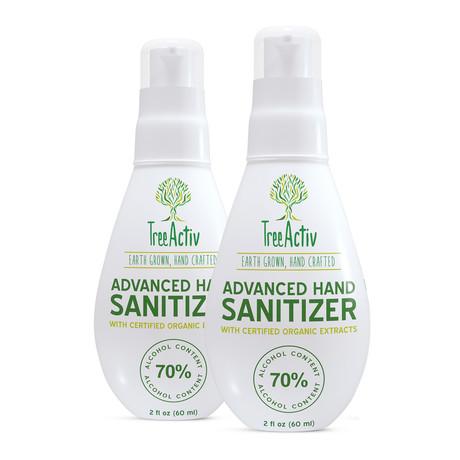 Advanced Hand Sanitizer // 2 oz // 2 Pack