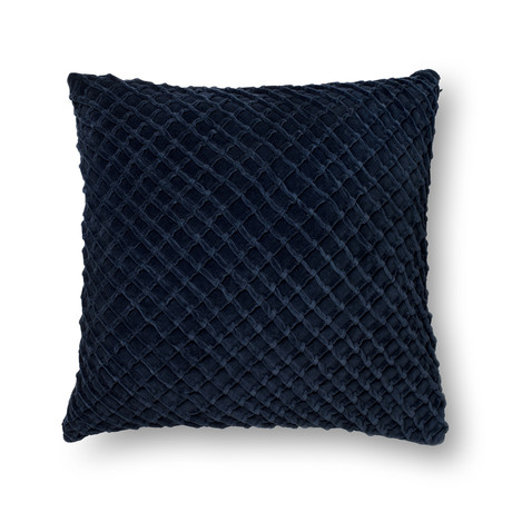 Criss Cross // Navy // Pillow (Cover Only)