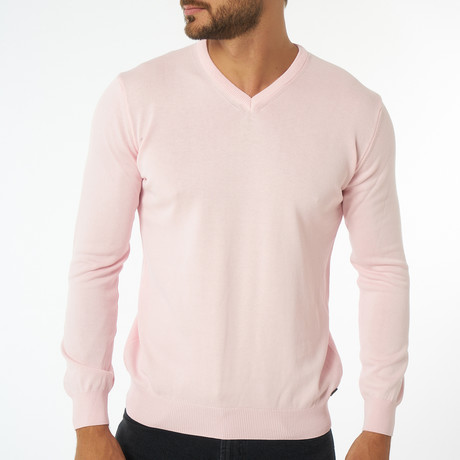 Zolia Sweater // Pink (S)
