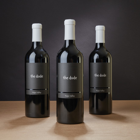 The Dude 2018 Napa Valley Red Blend // Set of 3