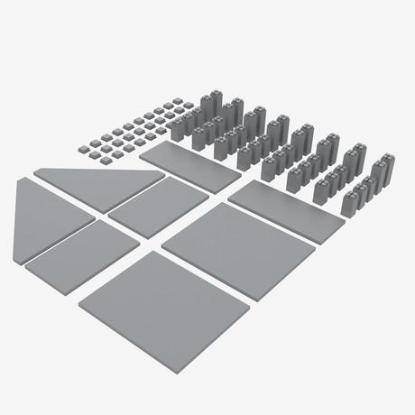 Magnetize Me Shelf // Gray