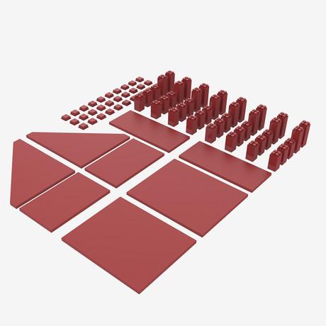 Magnetize Me Shelf // Red