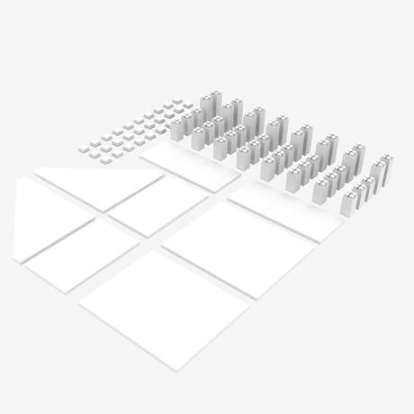 Simply Shelves // White