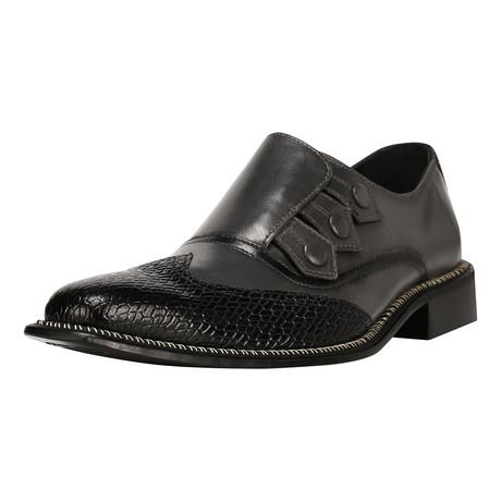 Neeson Dress Shoes // Black + Gray (US: 8)