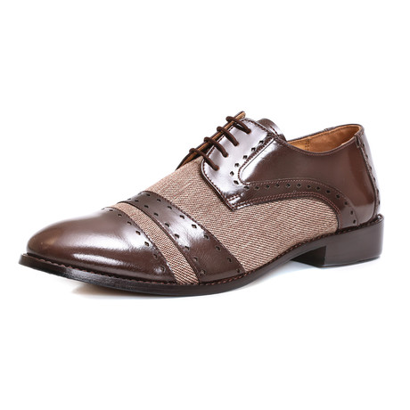Oxford Dress Shoes // Brown (US: 6.5)