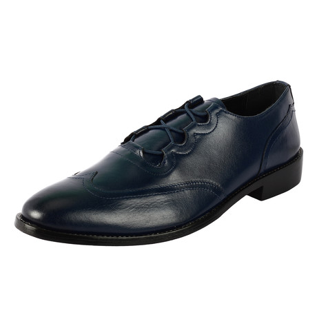 Minor Dress Shoes // Navy (US: 6.5)