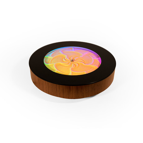 Sisyphus Mini Executive Tabletop (Walnut Veneer)