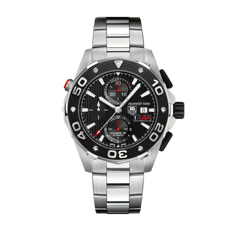 Tag Heuer Aquaracer Chronograph Automatic // CAJ2111.BA0872 // Store Display