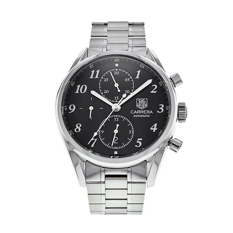 Tag Heuer Carrera Chronograph Automatic // CAS2110.BA0730 // Pre-Owned