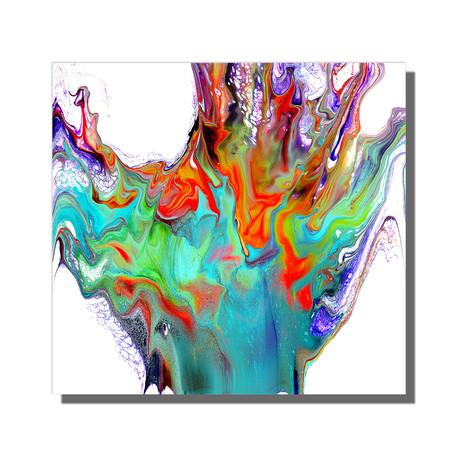 "Vibrant Splash (12""W x 12""H x 1""D)"