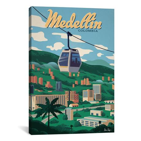"""Medellin // IdeaStorm Studios (26""""W x 40""""H x 1.5""""D)"""