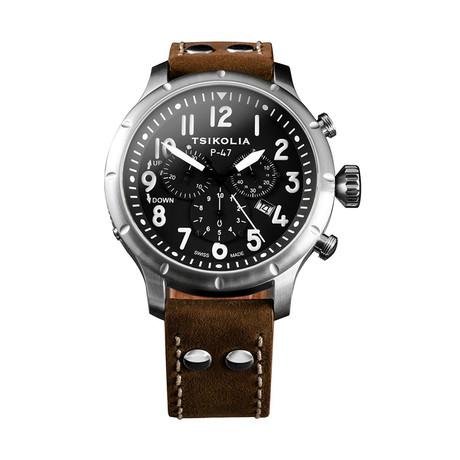 Tsikolia P-47 Chronograph Quartz // TWP47-5/300-1-19