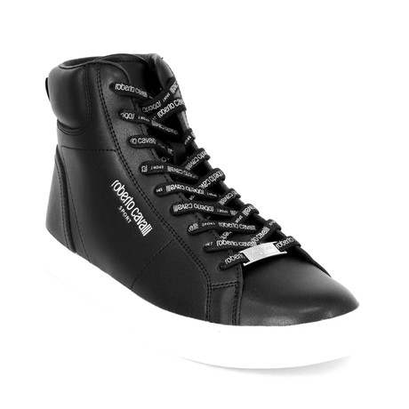 Men's Sport High-Top Sneaker // Black (Euro: 38)