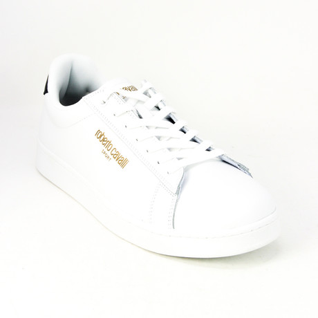 Men's Sport Trainer // White + Navy (Euro: 38)