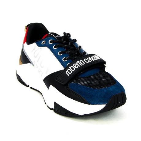 Sport Running Sneaker // Black + Red + Blue (Euro: 39)