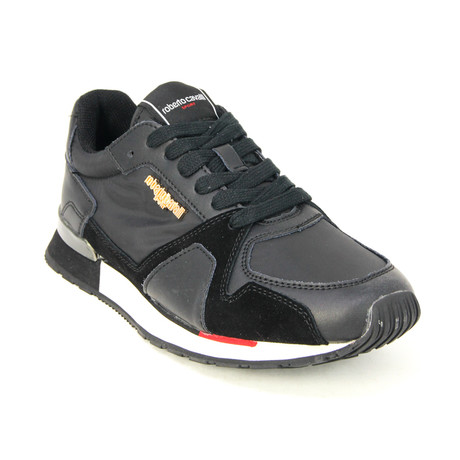 Men's Sport Running Sneaker // Black V1 (Euro: 39)