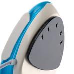 Ovo Portable Steam Iron + Garment Steamer // Blue