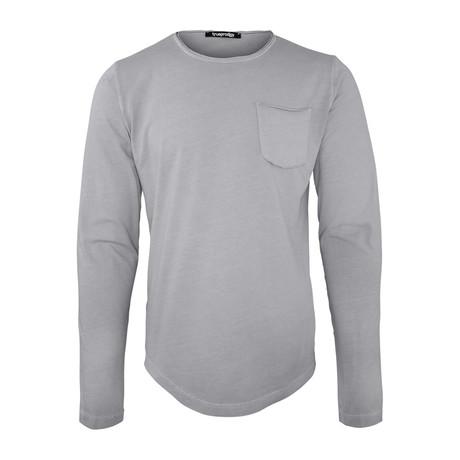 Bradley Long-Sleeve Shirt // Dark Gray (S)
