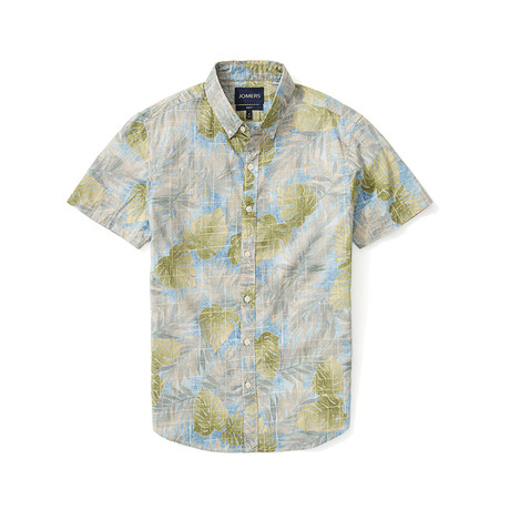 Short Sleeve Shirt // Siena Palm (S)