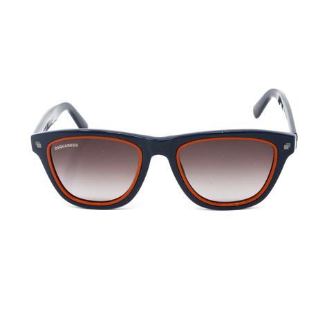 DSquared2 // Men's Patrick DQ0169 Sunglasses // Blue + Orange