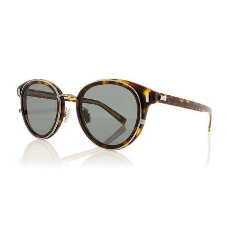 Men's Black Tie Sunglasses // Havana + Gray