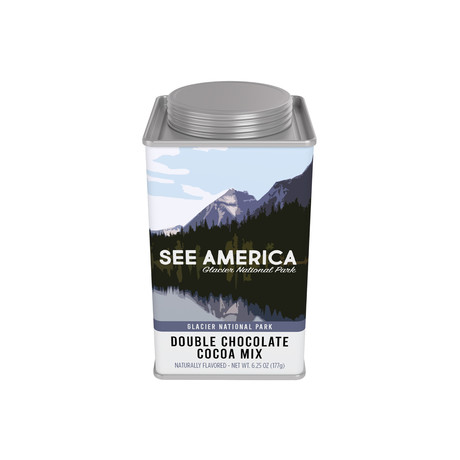 Glacier National Park // See America Double Chocolate Cocoa